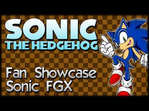 Sonic Fan Showcase : Sonic FGX