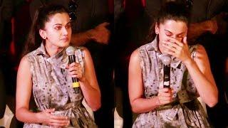 Emotional Taapsee Pannu CRIES At Pink Movie's Success Press Meet