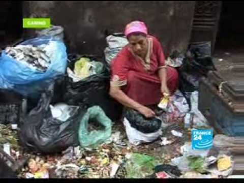 The slum dwellers of Cairo