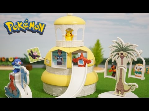 Pokemon ! 「pokemon school of Melemele Island」メレメレ島のポケモンスクール