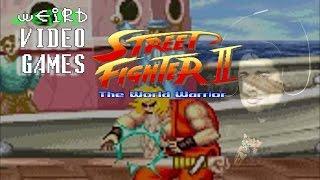 Weird Video Games - Street Fighter II (Arcade)