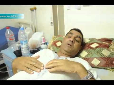 مريض مستعجلات مراكش  يقدم اعتذاره للطاقم الطبي
