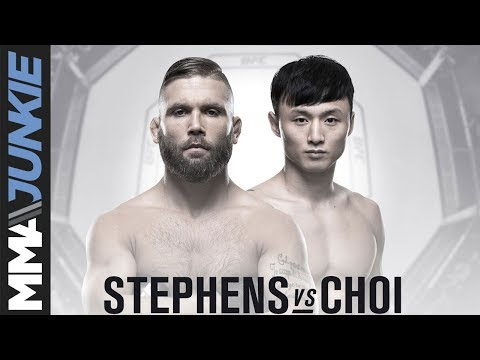 MMA media predict: Jeremy Stephens vs.  Dooho Choi