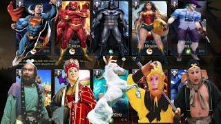 Liên Quân   Lần Đầu Tiên Khi Team Siêu Nhân DC Gặp Team Đường Tăng - Cái Kết Đánh Nhau Sml
