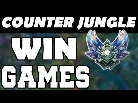 HOW TO COUNTER JUNGLE TIPS/TRICKS - Counter Jungle Guide - Proactive Jungling - League of Legends