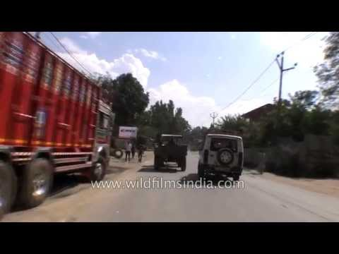 Driving from Srinagar to Jammu via National highway 1A - Part 5