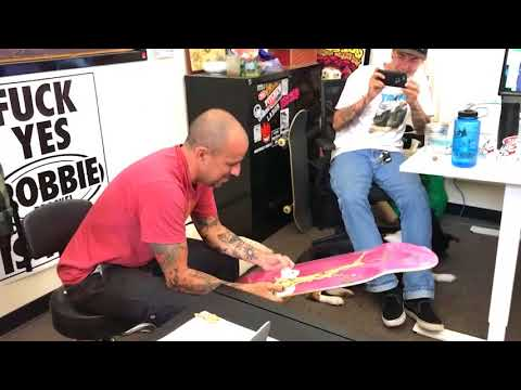 Jim Thiebaud Krooked Guest Board Surprise