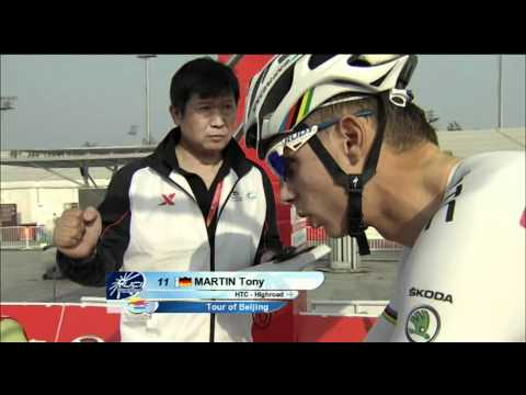 Martin honours rainbow jersey - Tour of Beijing - Stage 1 - Time Trial