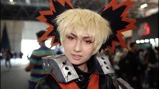Os 5 cosplayers de anime mais legais da Comic Con