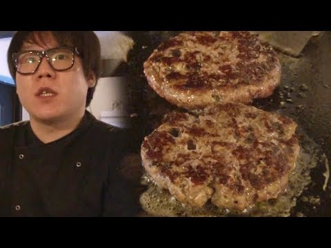 오믈렛 버거 달인, 패티 만드는 과정 공개 '고기 숙성 방법' @생활의 달인 638회 20180917