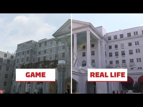 Fallout 76: Real Life vs In-Game Location Comparison