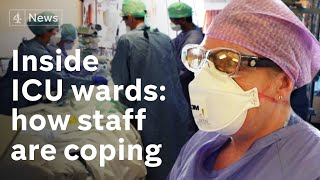 Inside an ICU during coronavirus: how doctors and nurses are coping as they battle to save patients