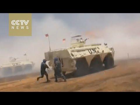 Beijing to deploy 8,000 more peacekeepers