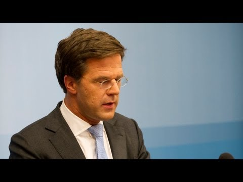 Statement MP Rutte 20 januari 2012