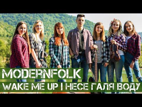 ModernFolk - Wake me up | Несе Галя воду | Avicii (cover)