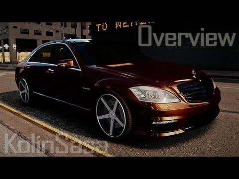Mercedes-Benz S65 W221 AMG Vossen
