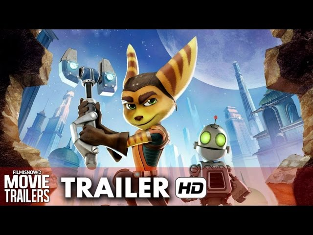 Ratchet & Clank Official Movie Trailer (2016) - James Arnold Taylor, David Kaye [HD]