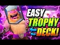 THE ULTIMATE TROPHY DECK For NEW META!! FAST LADDER PUSHING!
