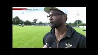 Market Drayton: Pascal Chimbonda without a professional football contract