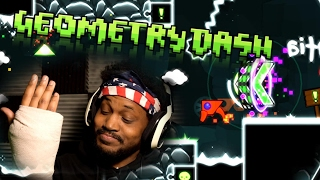 I BROKE MY HAND.. PLUS RAGE GAME.. IT'S LIT | Geometry Dash (2.1 UPDATE)