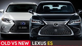 Old Vs New Lexus ES ► See The Differences