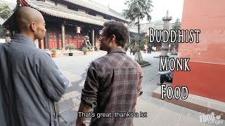 Eating Buddhist Monk Food in Chengdu at Wenshu Temple 文殊院