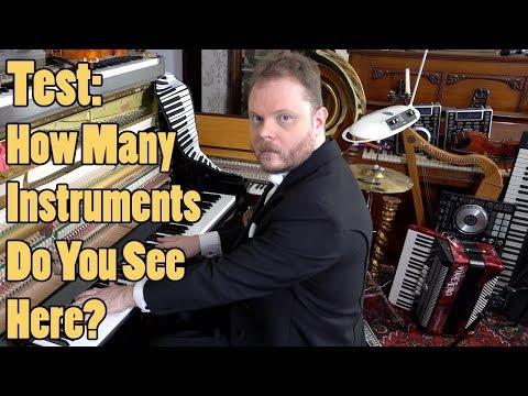 Test: How Many Instruments Do You See Here? Vídeos de zueiras e brincadeiras: zuera, video clips, brincadeiras, pegadinhas, lançamentos, vídeos, sustos