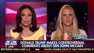 Ann Coulter: Donald Trump Speaks The Truth While RINO and Progressive Lefties Put Head in Sand
