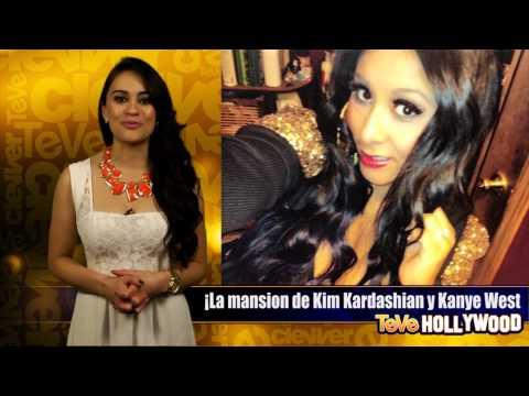 ¡La mansión de Kim Kardashian y Kanye West!