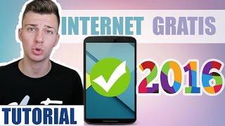 Tener INTERNET GRATIS para ANDROID 2016 | Sin ROOT Sin Saldo