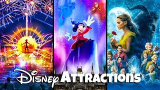 Top 10 NEW Disney Attractions - Updates & Announcements