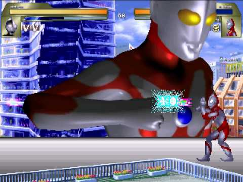 [MUGEN無限格鬥] !ultraman VS ultraman