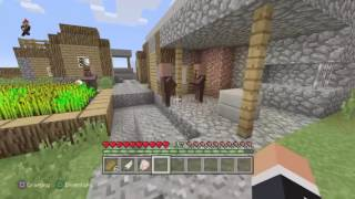Minecraft survival series episode 4 moving from the village