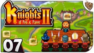"Knights of Pen and Paper 2 #07 ""A Muralha do Norte"" - Gameplay Português PT-BR"