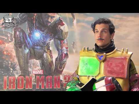 IRON MAN 3 meets Iron Italian (Robert Downey Jr & Gwyneth Paltrow meet Daniele Rizzo)