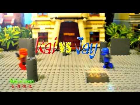 Лего ниндзяго мультик кай vs джей