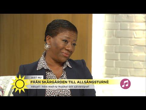 """Gladys del Pilar om barndomen: """"Det var jobbigt att inte se ut som alla andra"""" - Nyhetsmorgon (TV4)"""