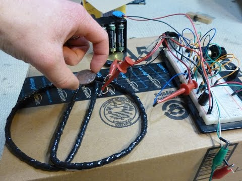 how to build a metal detector coil