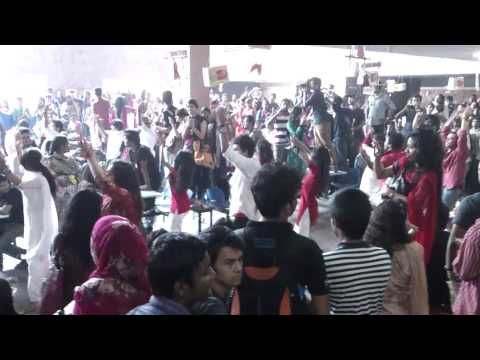 FLASH MOB - North South University , Cafeteria - 13/04/13 !!
