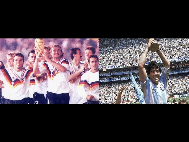 Germany vs Argentina football history till 2014 in pictures!fifa world cup 2014 final collection
