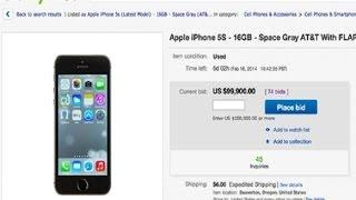 Lo ultimo en ebay vender iphones con flappy bird instalado