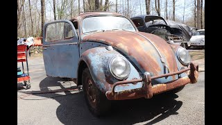 Working on the Floors in Project 58 Vw Bug Ragtop Patina Ride : 1958 Volkswagen Beetle