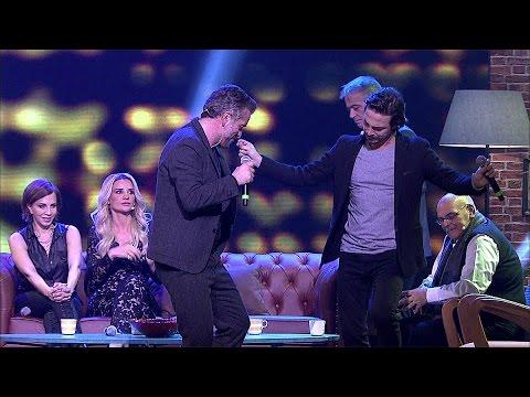 """Beyaz Show - Beyaz Show- Ahmet Kural ve Murat Cemcir'den eğlenceli """"Çıldır Çıldır"""" şarkısı!"""