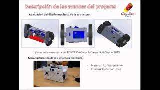 Robot autonomo Cansat rover   fly