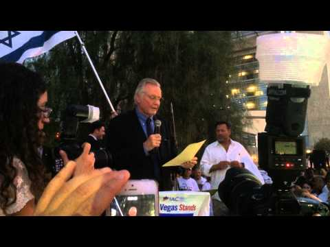 Jon Voight Slams Obama, Kerry At Israel Rally