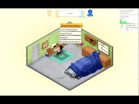 Game Dev Tycoon W/Hobo. Robo Ninjas Dude