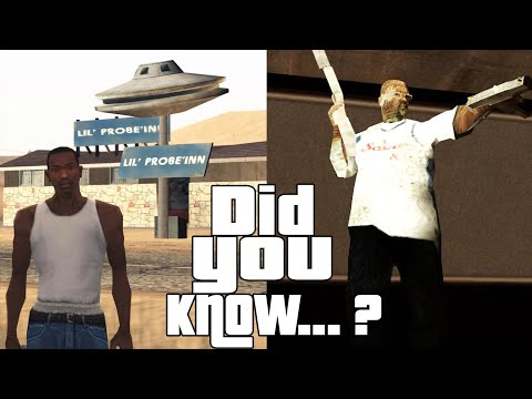 GTA San Andreas Secrets and Facts 3