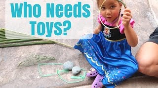 Kids Without Any Toys - What Happens? + Minimalism Benefits