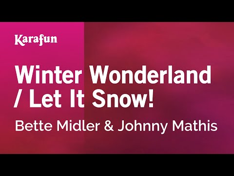 Bette Midler - Winter Wonderland