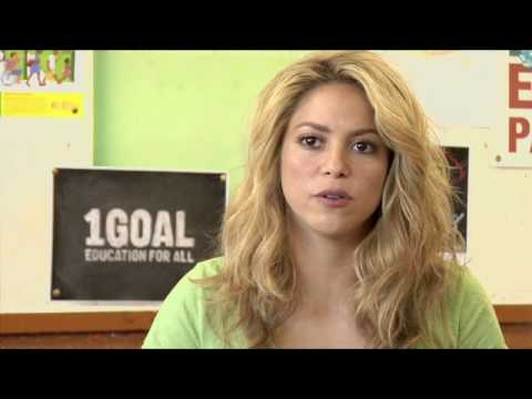 Shakira on the World Cup